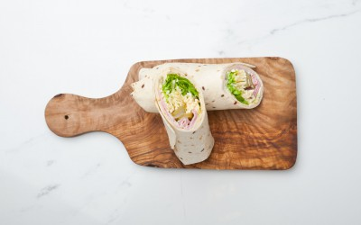 FRESH HAM & COMTÉ CHEESE WRAP