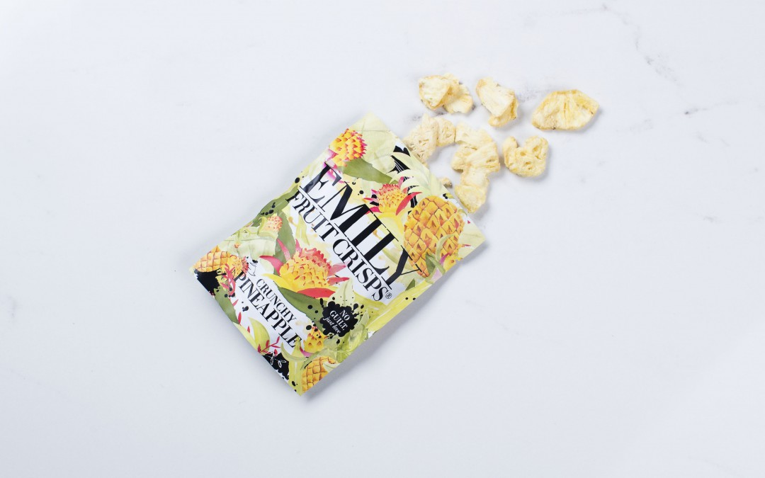 "CHIPS D'ANANAS ""EMILLY FRUIT CRISPS"""